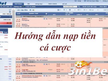 Hướng dẫn nạp tiền 3IN1BET nhanh bằng tiền Việt